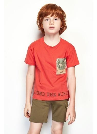 Nebbati Erkek Çocuk Haki Bermuda 19SS0NB3152 Haki